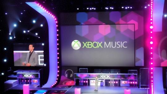 Xbox Music na E3