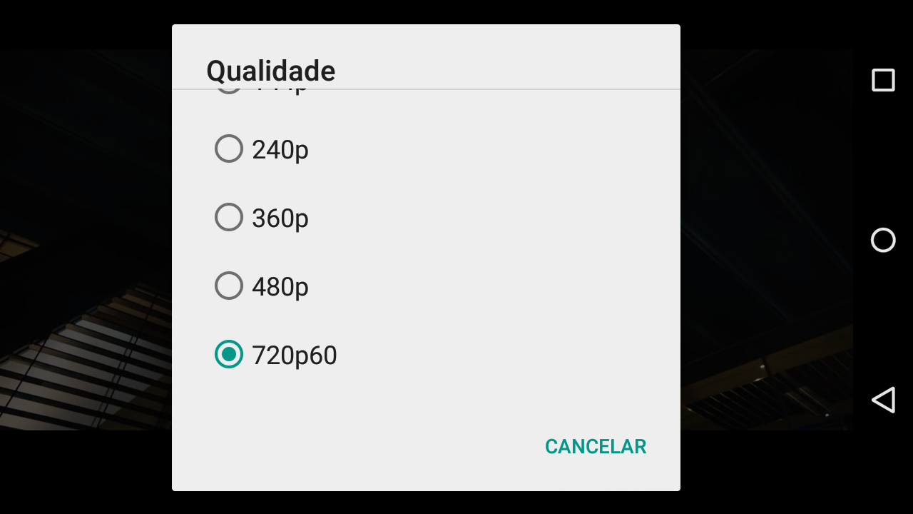 Youtube em 60fps no Android (2)