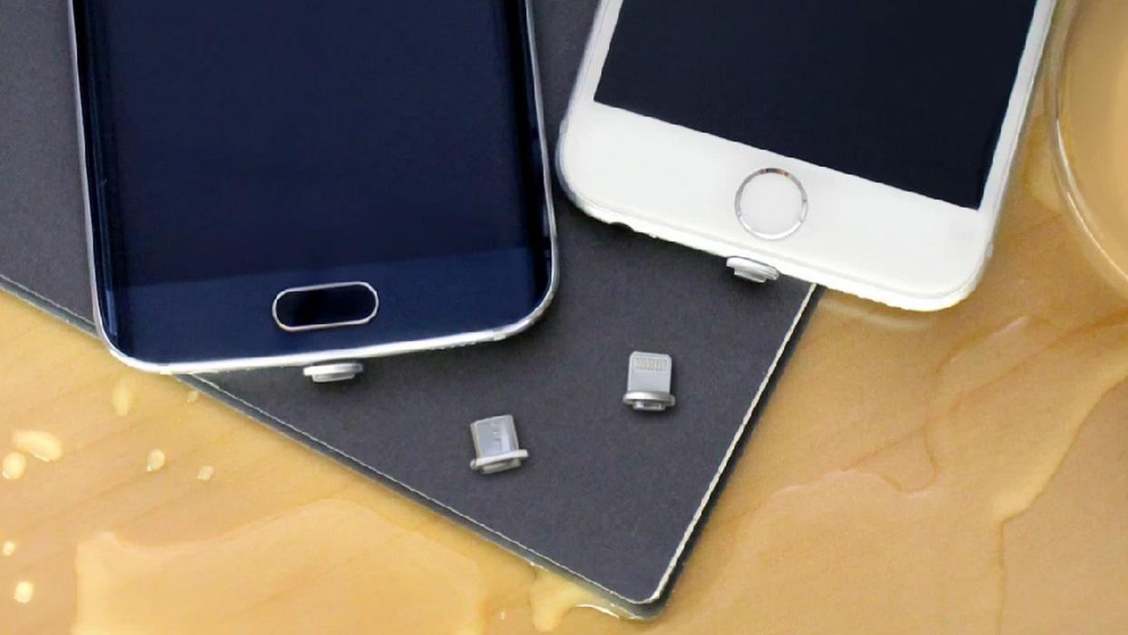 Adaptador magnético promete facilitar processo de carregar a bateria do smartphone