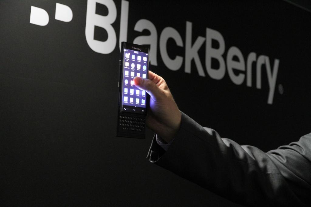 BlackBerry com teclado físico