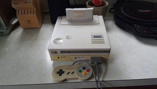 Suposto protótipo do Nintendo PlayStation