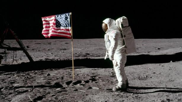 Buzz Aldrin na Lua
