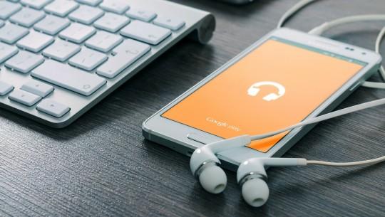 Google Music no smartphone