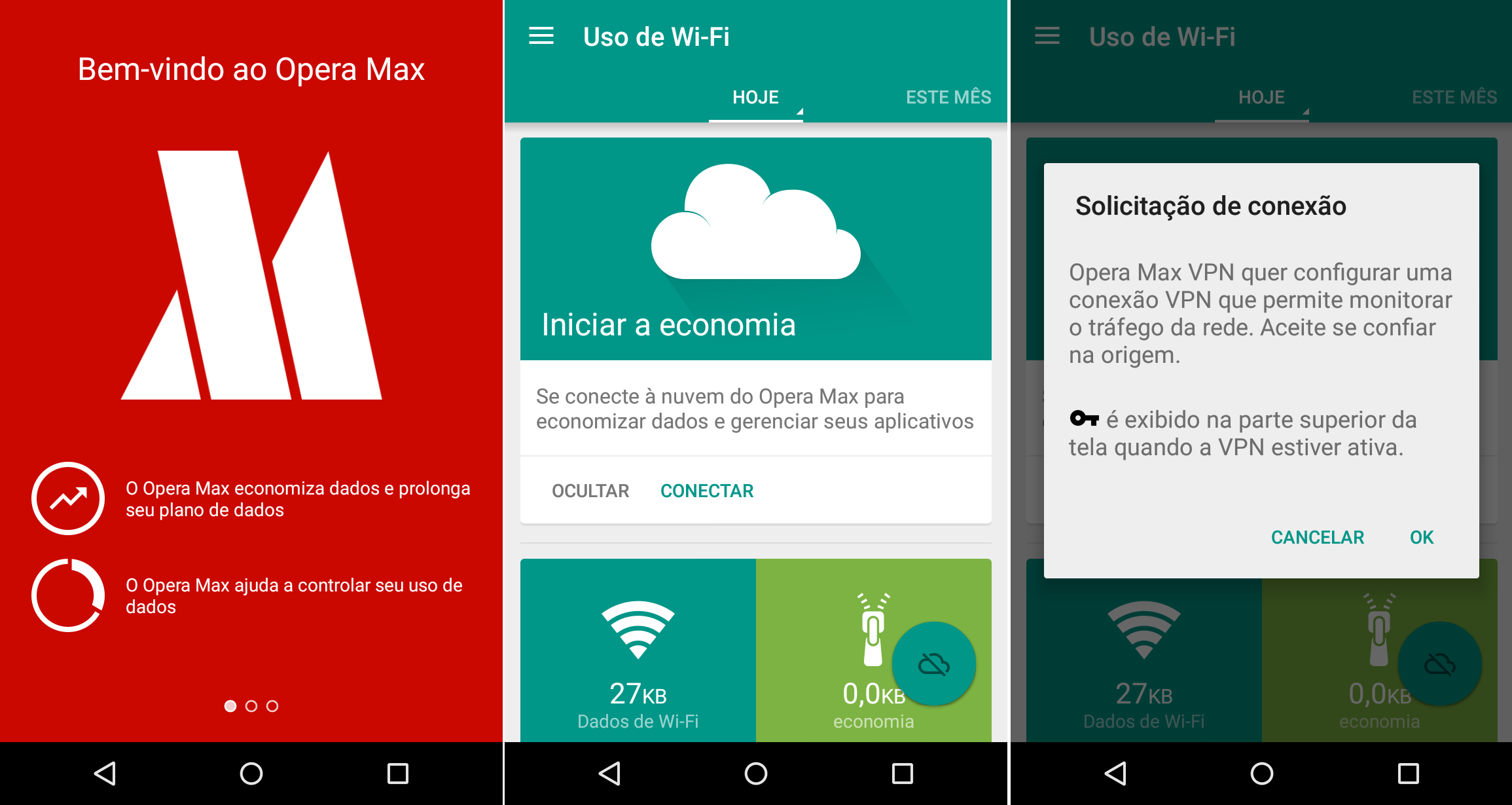 Opera Max para Android economiza franquia de dados no Netflix e YouTube