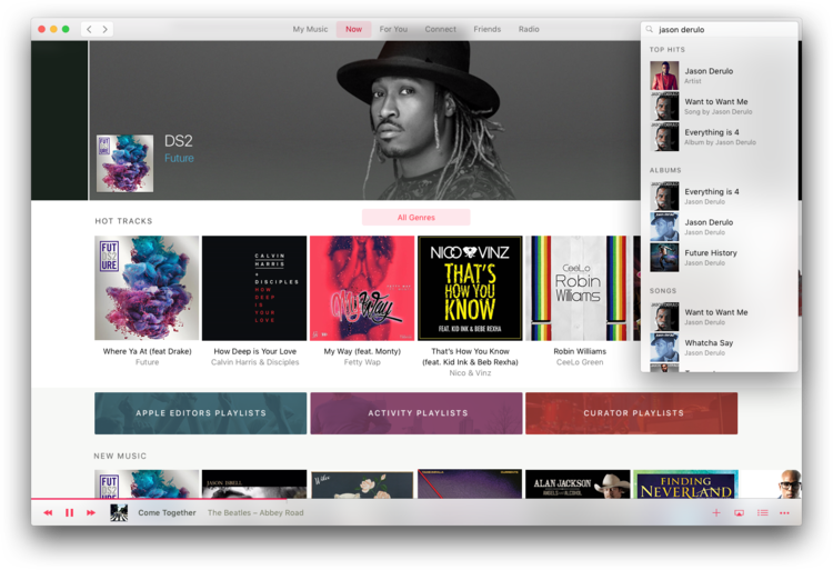 Designer cria novo visual para Apple Music