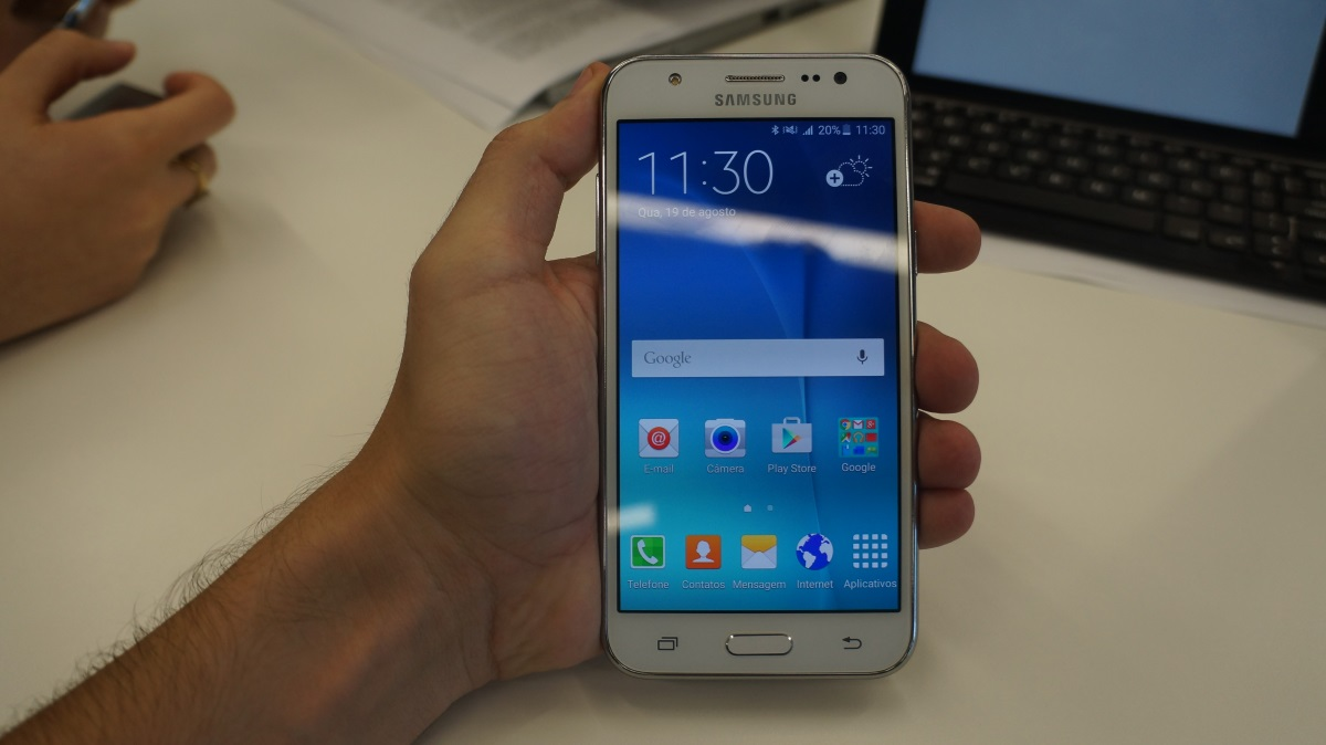 Linha Samsung Galaxy J