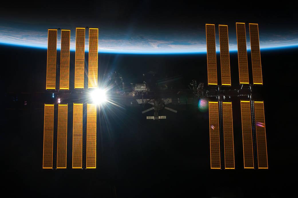 A Mars One diz que a tecnologia de suporte a vida vai ser criada com base em sistemas da ISS. Imagem via NASA.