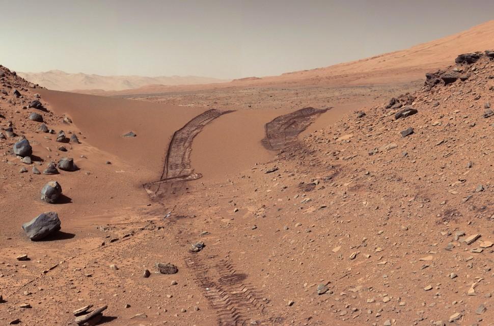 Marte. Crédito: Wikimedia