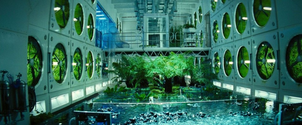 Imagem do jardim espacial do filme 'Sunshine: Alerta Solar'
