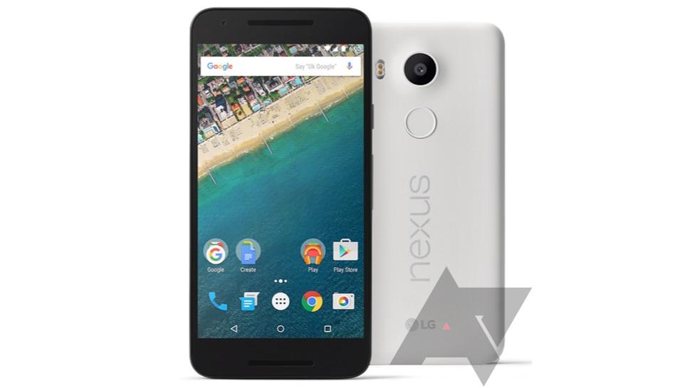 Nexus 5X vazado