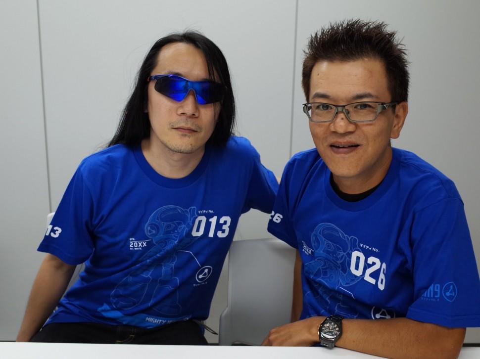 Takashi-Tateishi-Ippo-Yamada-Mighty-No-9