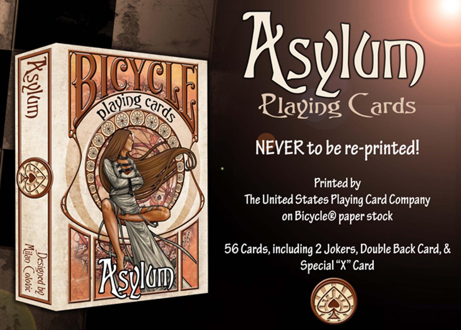 asylum cards