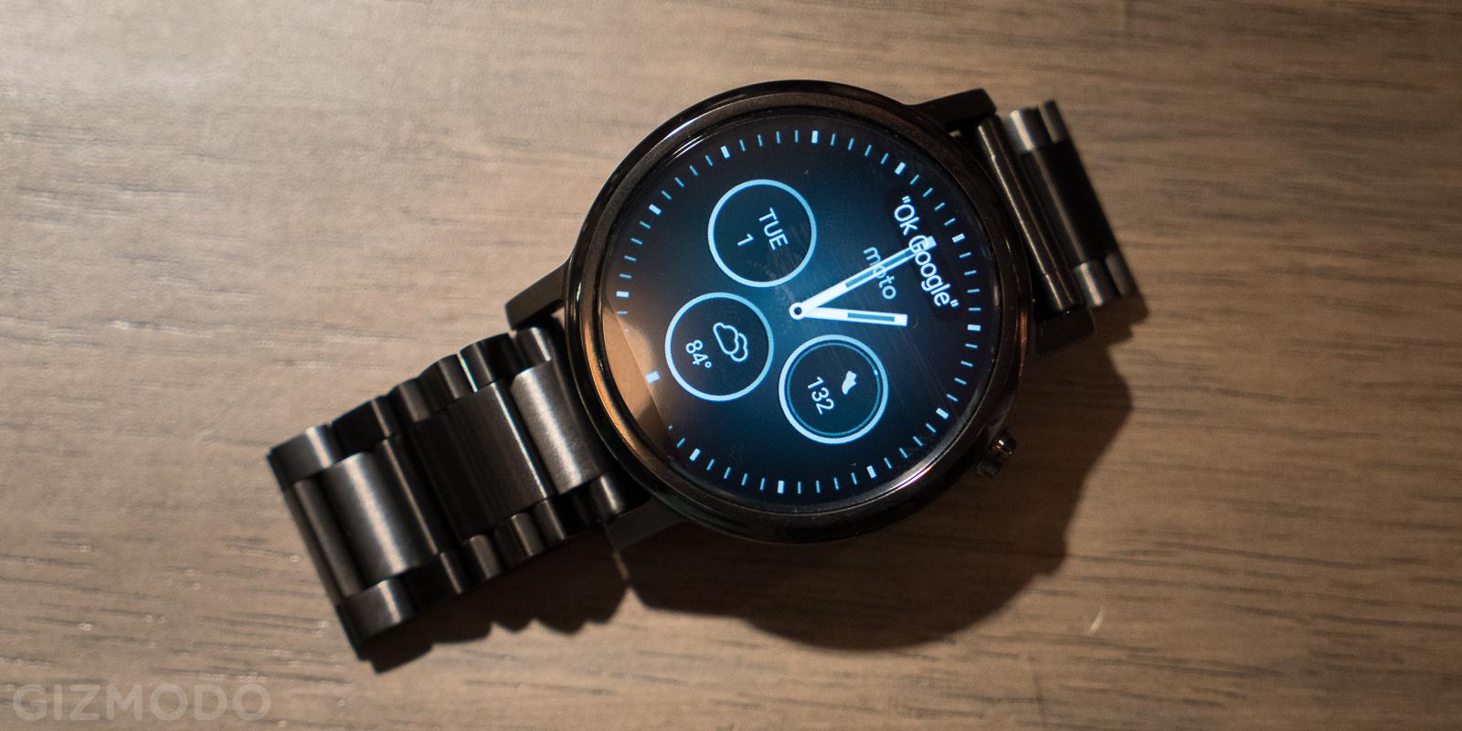 Novo smartwatch Moto 360