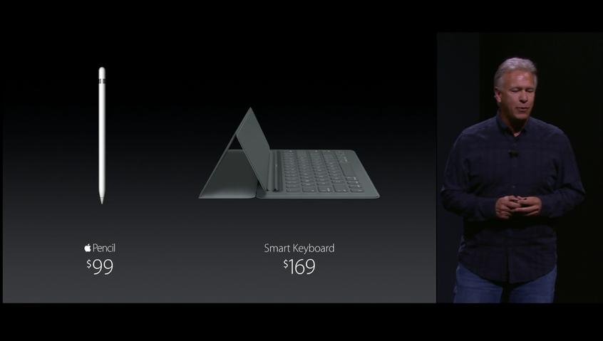 Preço dos acessórios do iPad Pro