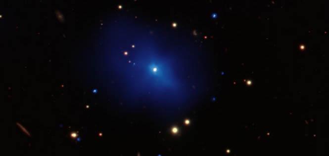 Dois buracos negros estão perto de esmagar um ao outro