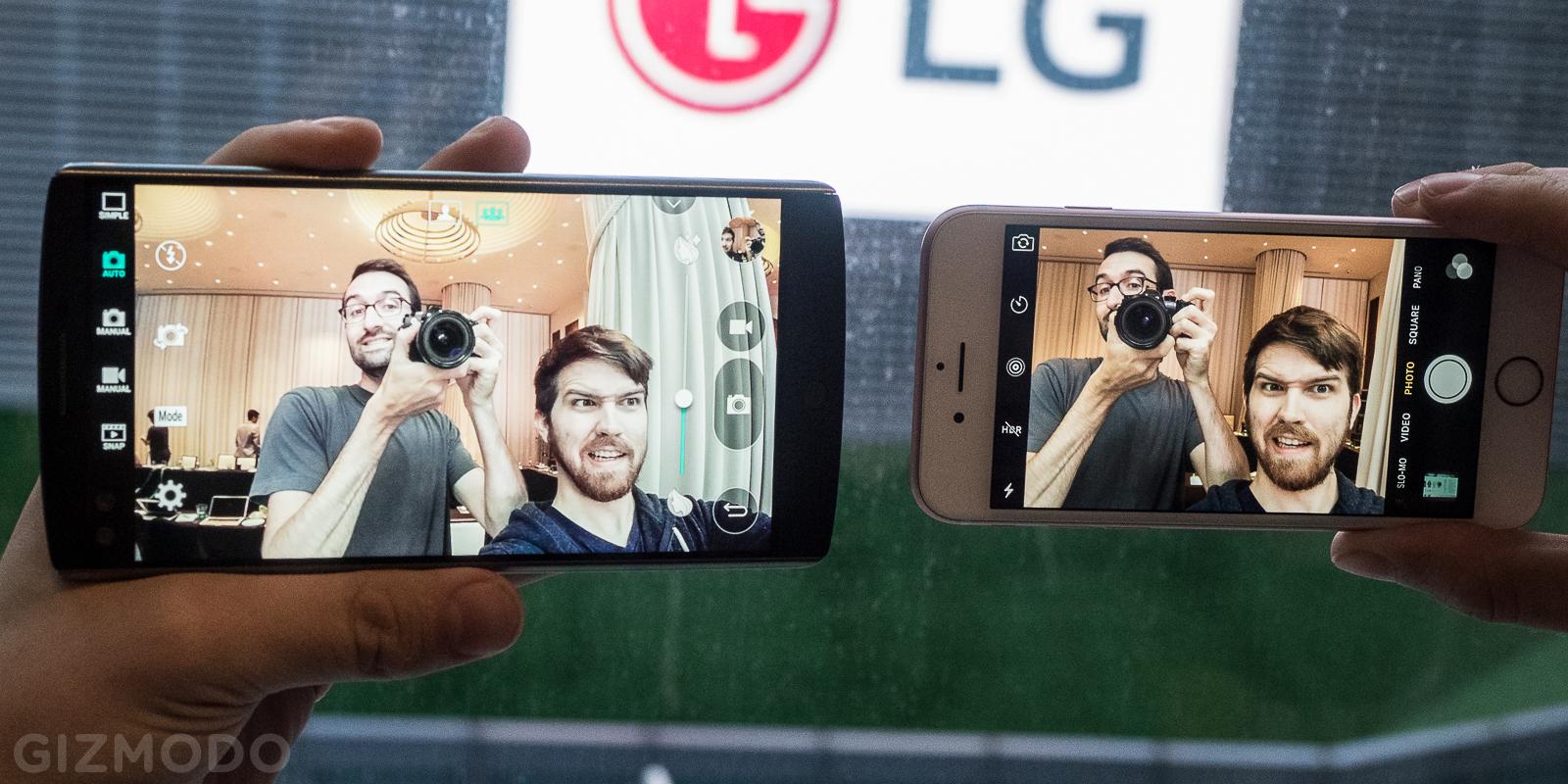 [Hands-on] O smartphone de duas telas LG V10 e o smartwatch LG Watch Urbane 2