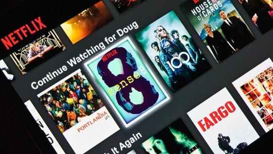 Netflix na tela