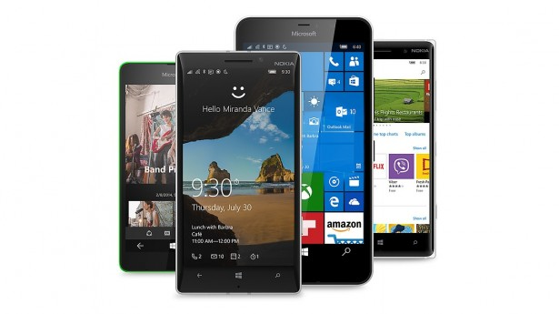 Windows 10 em Microsoft e Nokia