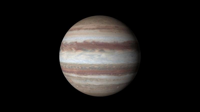 Novo vídeo do telescópio espacial Hubble mostra Júpiter em 4K