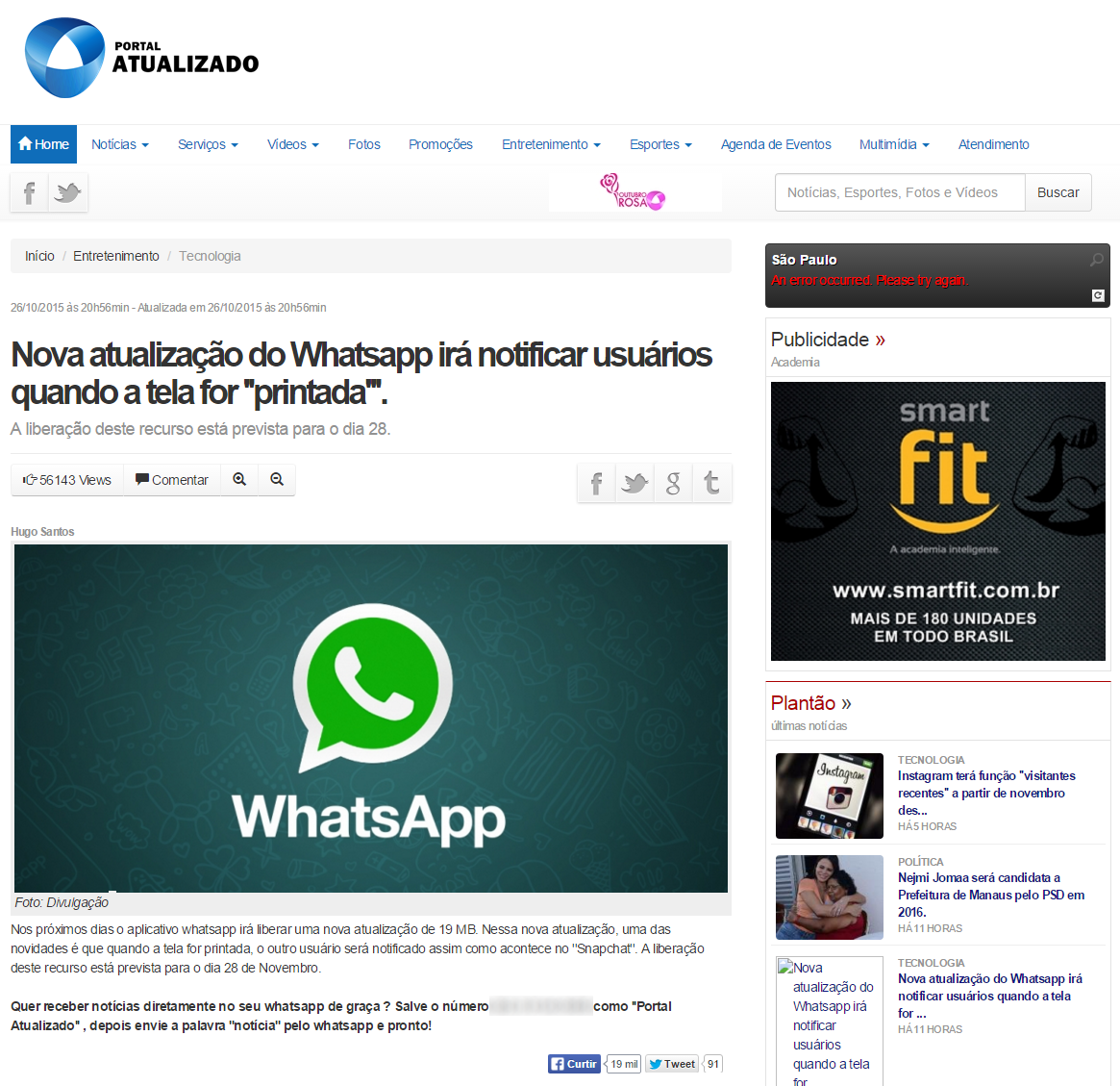 noticia falsa whatsapp