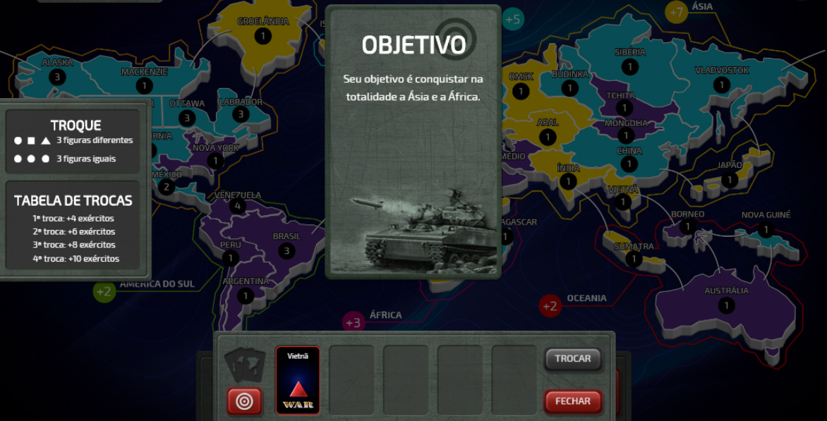 Jogo De Tabuleiro War Ganha Versao Digital Free To Play Para Pc E Tablet Gizmodo Brasil