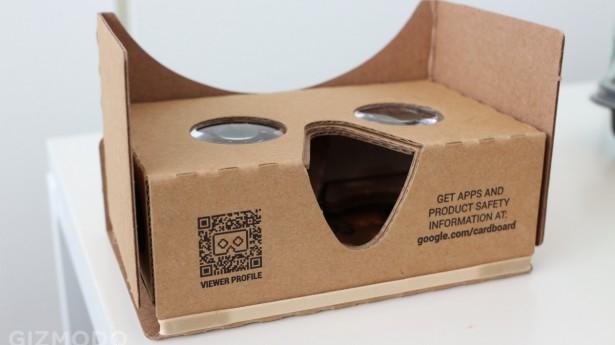 O Cardboard do Google não chega a ser uma novidade, mas também foi lembrado.