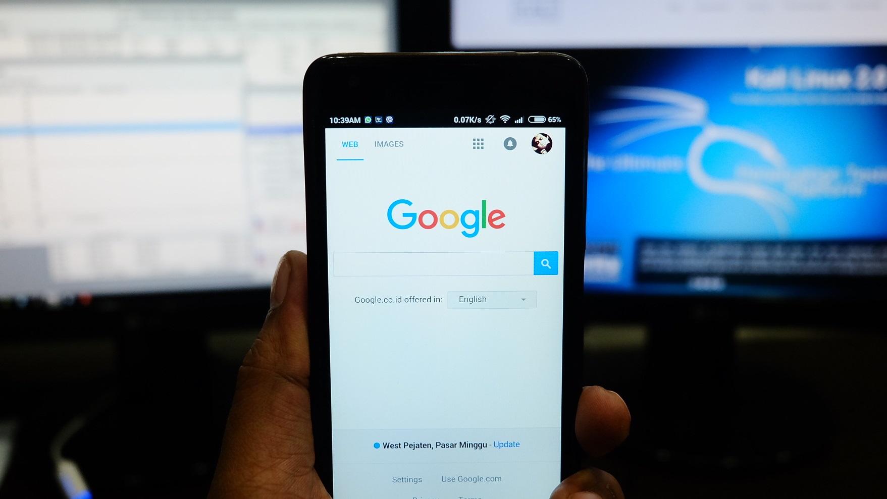 A página 'Minha Atividade' mostra tudo o que o Google sabe sobre você