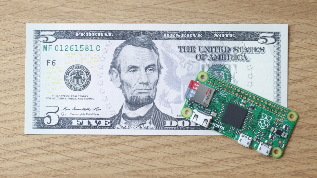 Raspberry Pi Zero é um computador portátil que custa apenas US$ 5