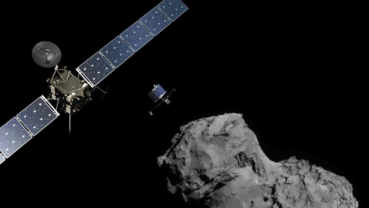 Como será o final dramático para a sonda Rosetta que orbita um cometa