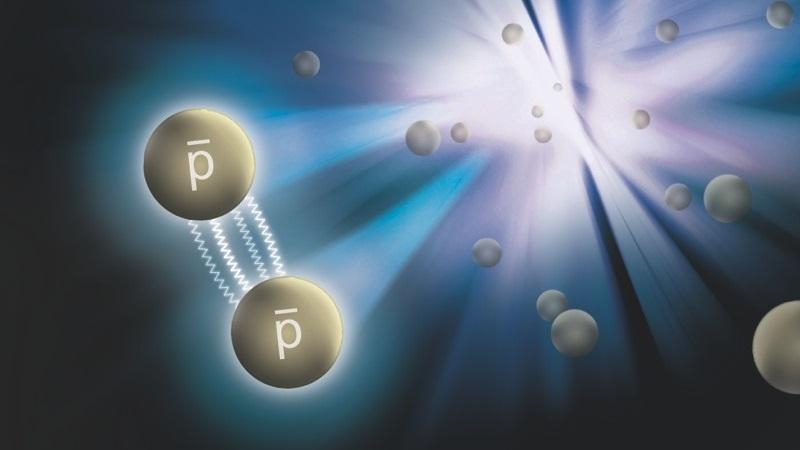 """Cientistas conseguiram medir a """"força forte"""" da antimatéria pela primeira vez na história"""