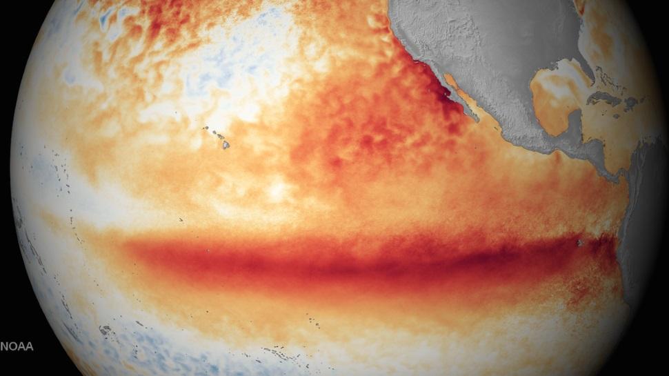O El Niño de 2015 caminha para ser o mais forte já registrado