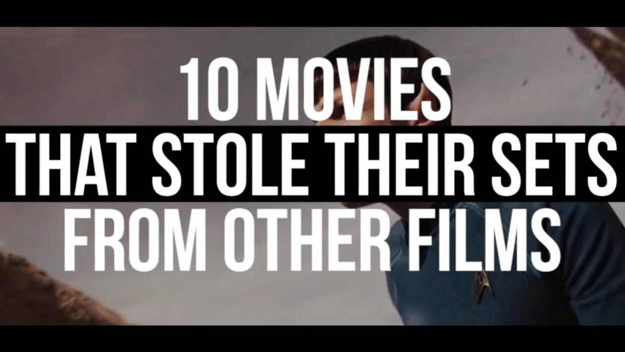 10 filmes que usaram exatamente o mesmo set de filmagens de outros