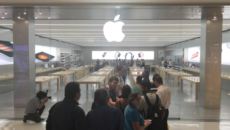 Quase ninguém foi ao lançamento do iPhone 6s na Apple Store de São Paulo