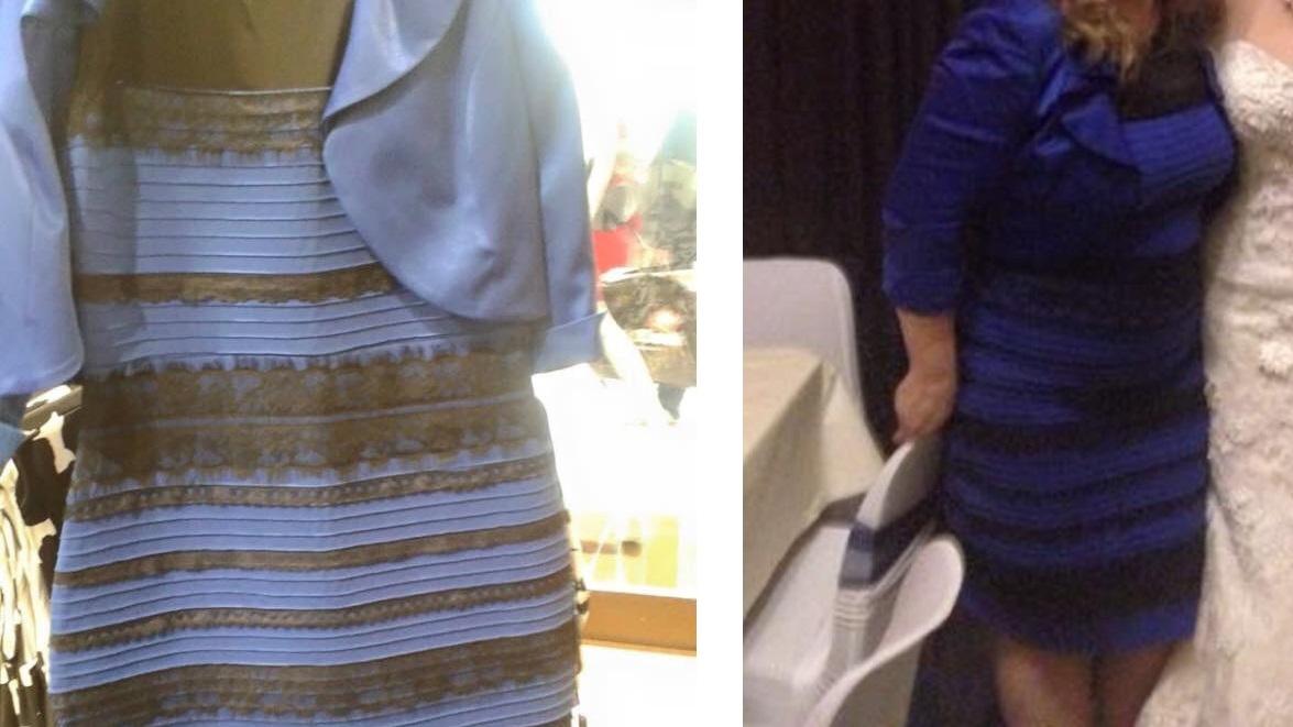 Preto e azul? Ou dourado e branco? 2015 foi o ano em que uma foto estranha de um vestido parou a internet e dividiu as pessoas em duas facções. Nós explicamos por que cada um via a roupa de uma cor diferente: