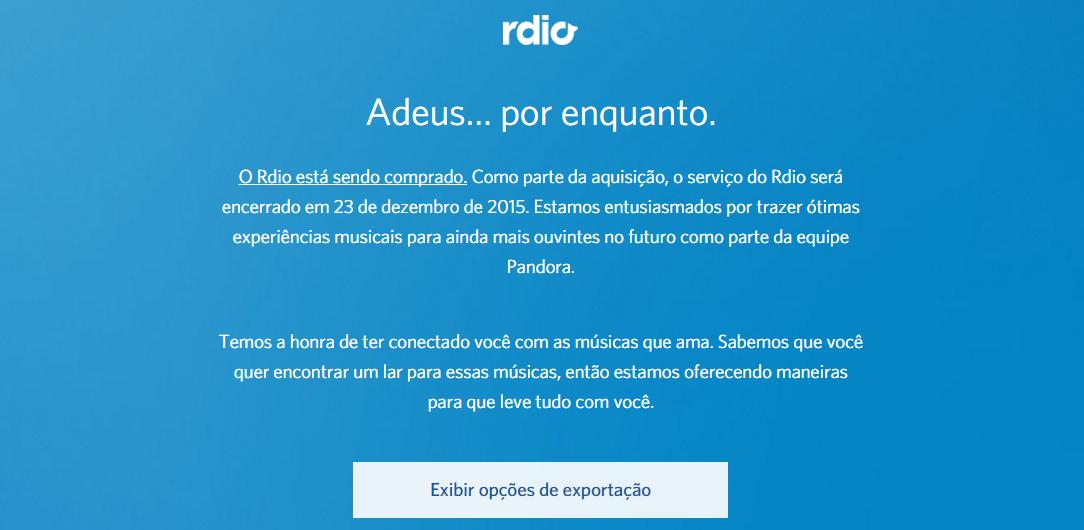 rdio farewell 2
