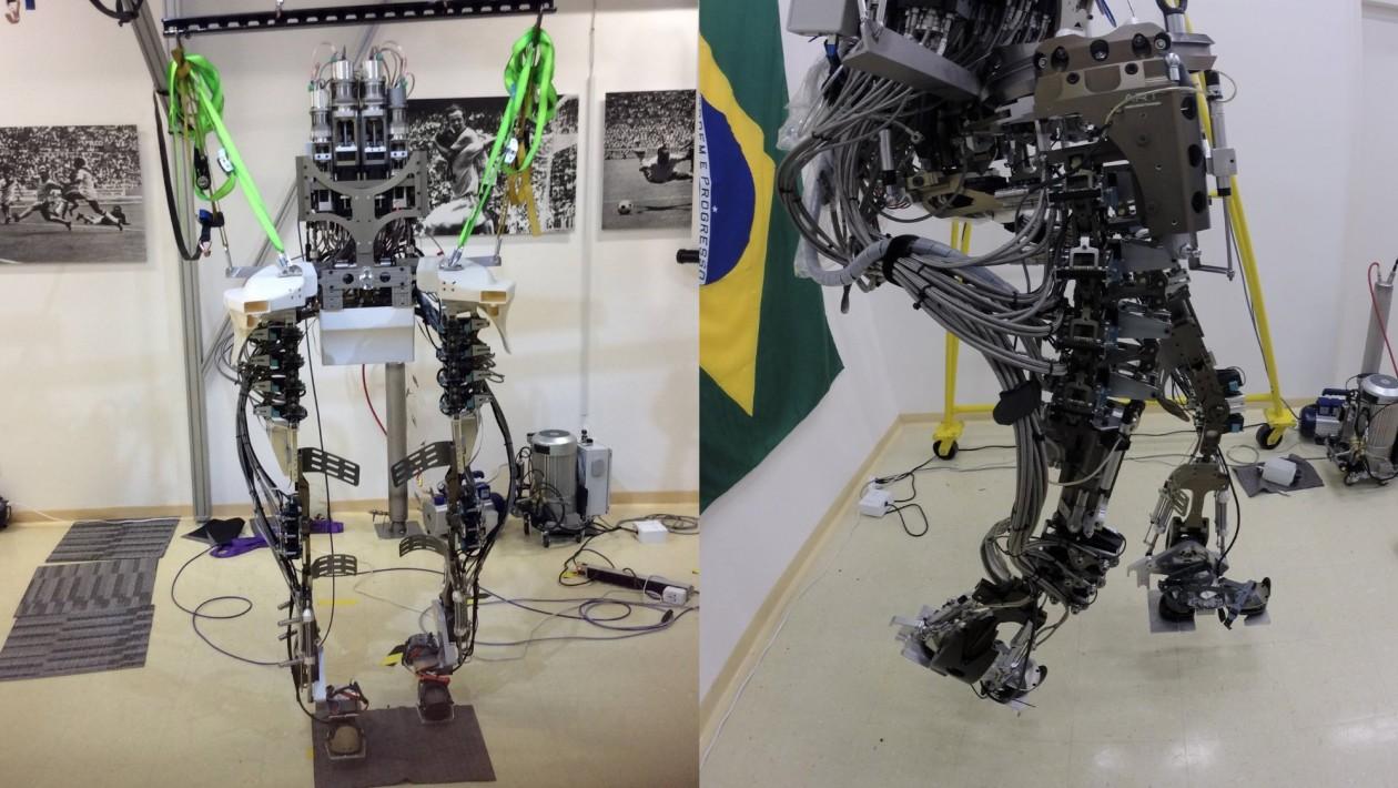A Copa de 2014 prometia mostrar o exoesqueleto que o neurocientista brasileiro Miguel Nicolelis e sua equipe preparavam há anos – mas ele apareceu por menos de dois segundos. Um ano depois, após toda a superexposição na Copa, o que aconteceu com o projeto Andar de Novo?