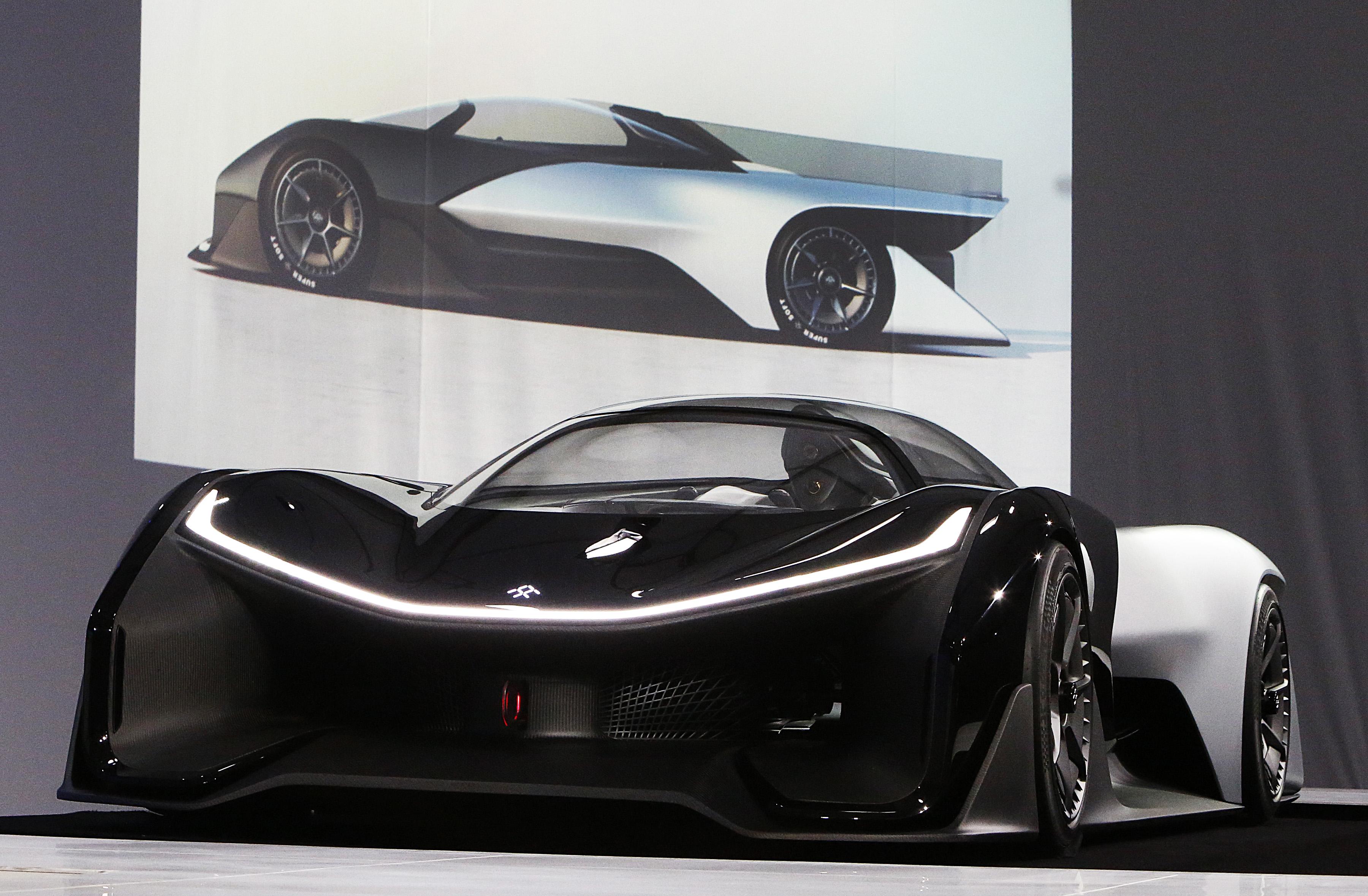 Faraday Future quer desafiar Tesla com carro elétrico parecido com Batmóvel