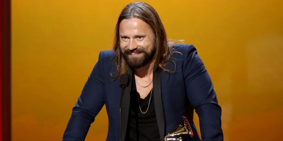 LOS ANGELES, CA - FEBRUARY 08:  Music producer Max Martin speaks onstage during The 57th Annual GRAMMY Awards premiere ceremony at STAPLES Center on February 8, 2015 in Los Angeles, California.  (Photo by Michael Tran/FilmMagic)