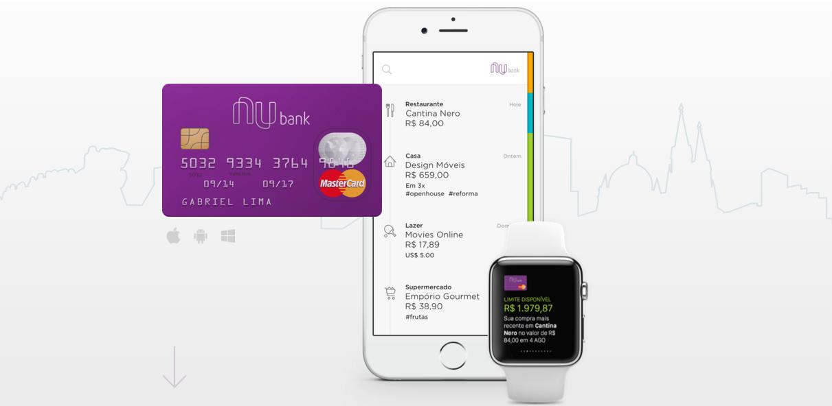 Nubank pode acabar devido a novas regras de cartão de crédito