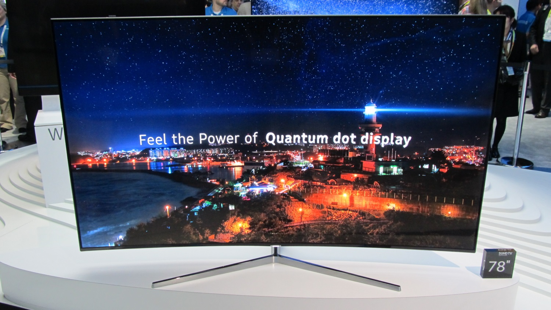 As TVs de pontos quânticos da Samsung devem chegar ao mercado brasileiro em julho -