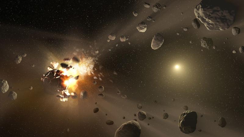 Um asteroide passará tão perto da Terra no próximo mês que será possível vê-lo nos céus