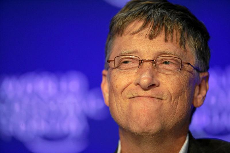 Bill Gates no fórum econômico mundial