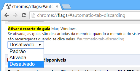 chrome descarte guia