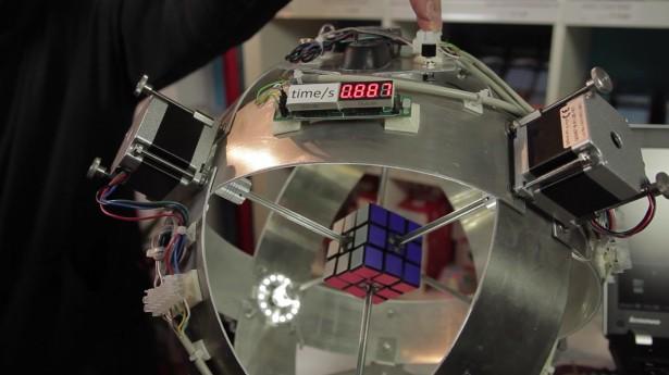 cubo magico recorde