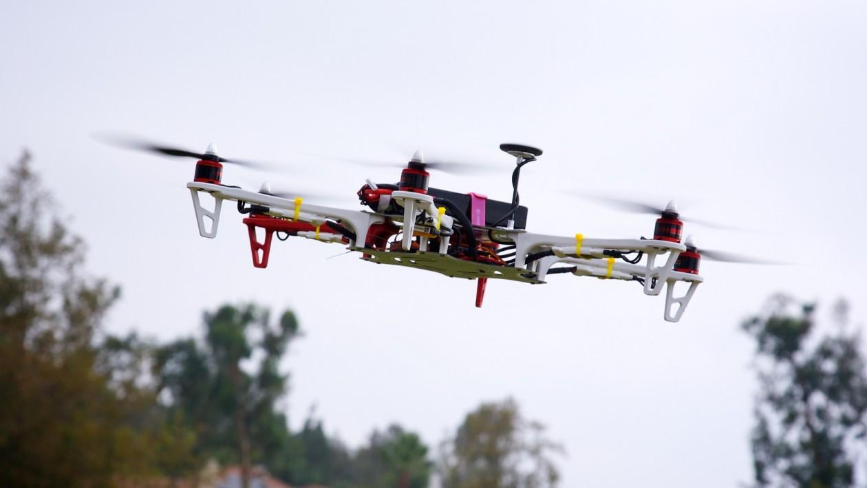 As corridas de drones estão começando a ficar bem empolgantes