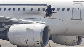 explosao aviao