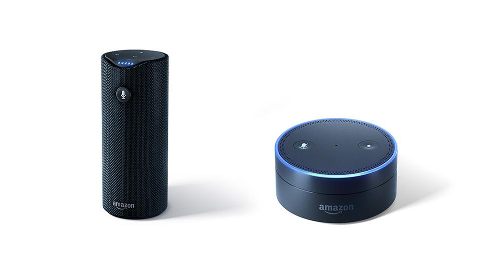 Os primeiros modelos dos alto-falantes Amazon Echo