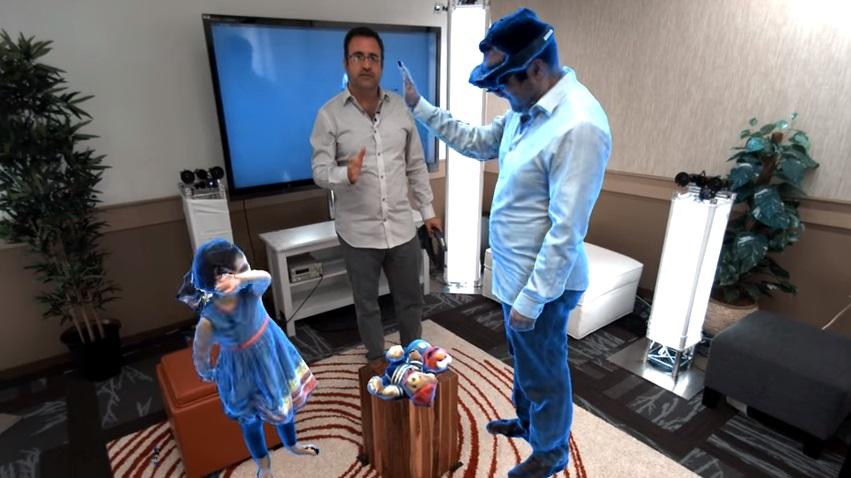 No futuro, todos em uma sala poderão ser apenas hologramas com nova tecnologia da Microsoft