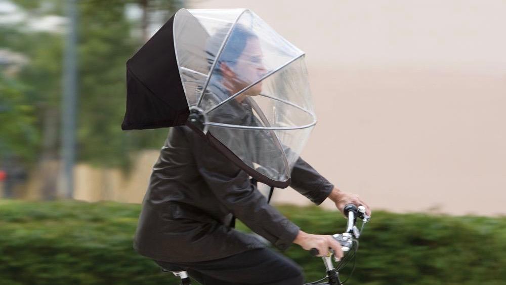 Nubrella: um guarda-chuva vestível que deixa suas mãos livres