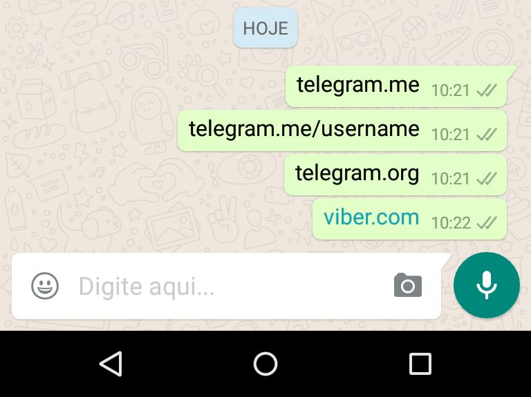 whatsapp bloqueio telegram